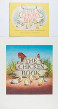 Books:Children's Books, Garth Williams. SIGNED. Stapled Proof of The Chicken Bookwith Alternate Cover, 1946. Signed in full by Ga...