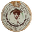 Baseball Collectibles:Others, Rare 1910 Ladies Chicago Cubs/White Sox Schedule and Mirror. ...
