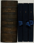 "Books:Literature Pre-1900, J. M. Barrie. The Little Minister. London: Cassell &Company, 1891. First edition, with 14 pages of ads dated ""5 G.9...(Total: 3 Items)"