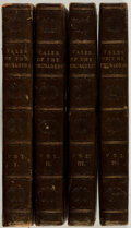 Books:Literature Pre-1900, [Sir Walter Scott]. Tales of the Crusaders. Edinburgh: Archibald Constable, 1825. First edition, advertisements ... (Total: 4 Items)
