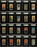 Baseball Cards:Sets, 1909-11 T206 White Borders Partial Set (382 Different)....