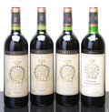 Red Bordeaux, Chateau Gruaud Larose. St. Julien. 1982 Bottle (3). 1986 vhsBottle (1). ... (Total: 4 Btls. )