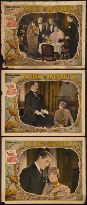 """The Nest (Excellent, 1927). Lobby Cards (3) (11"""" X 14""""). Drama. ... (Total: 3 Items)"""