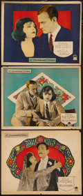 "Movie Posters:Drama, Bella Donna (Paramount, 1923). Lobby Cards (3) (11"" X 14""). Drama.. ... (Total: 3 Items)"