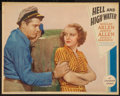 """Movie Posters:Adventure, Hell and High Water (Paramount, 1933). Lobby Card (11"""" X 14"""").Adventure.. ..."""