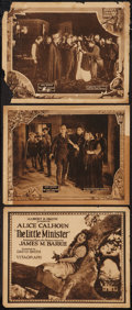 "Movie Posters:Drama, The Little Minister (Vitagraph, 1922). Title Lobby Card & LobbyCards (2) (11"" X 14""). Drama.. ... (Total: 3 Items)"