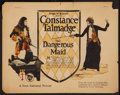 "Movie Posters:Comedy, The Dangerous Maid (First National, 1923). Title Lobby Card (11"" X14""). Comedy.. ..."