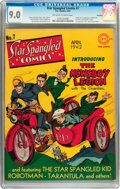 Golden Age (1938-1955):Superhero, Star Spangled Comics #7 Rockford pedigree (DC, 1942) CGC VF/NM 9.0 Off-white to white pages....