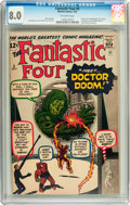 Silver Age (1956-1969):Superhero, Fantastic Four #5 (Marvel, 1962) CGC VF 8.0 Off-white pages....