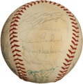Autographs:Baseballs, 1971 National League All-Star Team Signed Baseball....