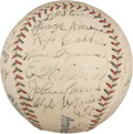 Autographs:Baseballs, 1926 Detroit Tigers Team Signed Baseball....