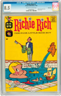 Silver Age (1956-1969):Humor, Richie Rich #1 Windy City pedigree (Harvey, 1960) CGC VF+ 8.5 Off-white to white pages....