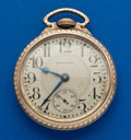 Timepieces:Pocket (post 1900), Waltham 21 Jewel 16 Size Crescent St. . ...