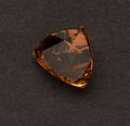 Estate Jewelry:Unmounted Gemstones, Unmounted Orange-Brown Pyrope-Spessartine Garnet. ...