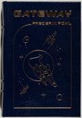 Books:Science Fiction & Fantasy, Frederik Pohl. SIGNED. Gateway. Norwalk: Easton Press, [1986]. Collector's edition. Signed by Pohl. Octavo. 313 ...