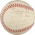Autographs:Baseballs, Circa 1937 St. Louis Cardinals Partial Team Signed Baseball....