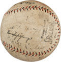 Autographs:Baseballs, 1924 New York Giants Team Signed Baseball....