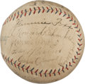 Autographs:Baseballs, 1929 Philadelphia Athletics Team Signed Baseball....