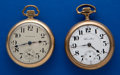 Timepieces:Pocket (post 1900), Two 21 Jewel 18 Size Pocket Watches. ... (Total: 2 Items)