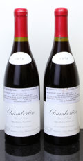 Red Burgundy, Chambertin 1989 . Leroy . 1lscl. Bottle (2). ... (Total: 2Btls. )