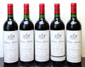 Red Bordeaux, Chateau Montrose 1990 . St. Estephe. 3lscl. Bottle (5). ...(Total: 5 Btls. )
