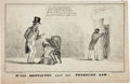 Political:Small Paper (pre-1896), Martin Van Buren: Circa 1836 Cartoon....