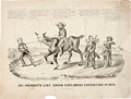 Political:Small Paper (pre-1896), John C. Fremont: Currier & Ives Cartoon....
