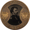 Political:Ferrotypes / Photo Badges (pre-1896), Fremont & Cochrane: Gem Gault-Frame Ferrotype....