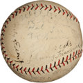 Autographs:Baseballs, Circa 1930 Brooklyn Robins Signed Baseball....
