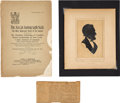 Political:3D & Other Display (pre-1896), Abraham Lincoln: From-Life Sketch Taken at Richmond....