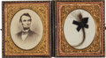 Political:Presidential Relics, Abraham Lincoln: Substantial Lock of Hair with Noted Pedigree....