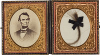 Abraham Lincoln: Substantial Lock of Hair with Noted Pedigree