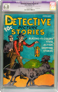 Platinum Age (1897-1937):Miscellaneous, Detective Picture Stories #2 (Comics Magazine, 1937) CGC ApparentFN 6.0 Moderate (P) Off-white pages....