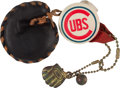 Baseball Collectibles:Pins, Rare 1950's Chicago Cubs Pin with Glove/Charms. ...