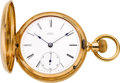 Timepieces:Pocket (pre 1900) , Waltham 18k Gold Hunters Case Model 72, circa 1884. ...