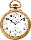 Timepieces:Pocket (post 1900), Rockford 21 Jewel Grade 655 Wind Indicator, circa 1911. ...