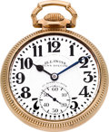 Timepieces:Pocket (post 1900), Illinois 23 Jewel Grade 163 Sixty Hour Bunn Special, circa 1930....