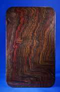 Lapidary Art:Tables / Tabletops, TIGER IRON TABLE TOP. ...
