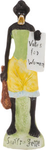 Political:3D & Other Display (1896-present), Anti-Women's Suffrage Figurine....