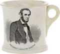 Political:3D & Other Display (pre-1896), Abraham Lincoln: ABC Mug....