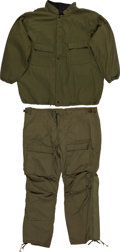 Transportation:Aviation, Military Chemical Protective Suit Jacket and Pants.... (Total: 2Items)