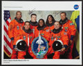 Autographs:Celebrities, Space Shuttle Discovery (STS-116) Crew-Signed Color Photo. ...