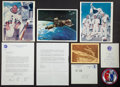 Transportation:Space Exploration, Skylab II (SL-3): Crew-Signed Launch Invitation, Alan Bean SignedPhoto, Letter, and Card. ... (Total: 7 Items)