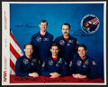 Autographs:Celebrities, Space Shuttle Columbia (STS-28) Crew-Signed Color Photo. ...