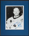 Autographs:Celebrities, Neil Armstrong Signed B&W Photo. ...