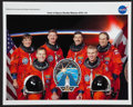 Autographs:Celebrities, Space Shuttle Atlantis (STS-115) Crew-Signed Color Photo....
