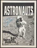 Autographs:Celebrities, Buzz Aldrin Signed 34th Space Congress Astronauts Program Directly from the Personal Collection of Roger Chaffee's Daughter Sh...