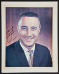 Autographs:Celebrities, Gus Grissom Signed Color Photo....
