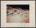 Transportation:Space Exploration, Apollo 12 Color Photo on a Crew-Signed Mat. ...