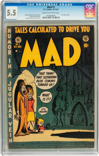 Mad #1 (EC, 1952) CGC FN- 5.5 Cream to off-white pages